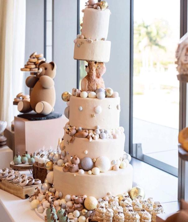 malika baby shower cake