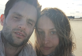 Penn Badgley's wife Domino Kirke is pregnant after suffering two miscarriages
