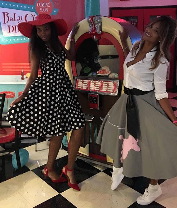 ciara baby shower juke box