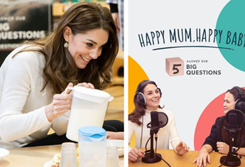 Kate Middleton admits she also struggles with mum guilt