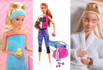 There's now a Wellness Barbie collection and to be honest, it's too much