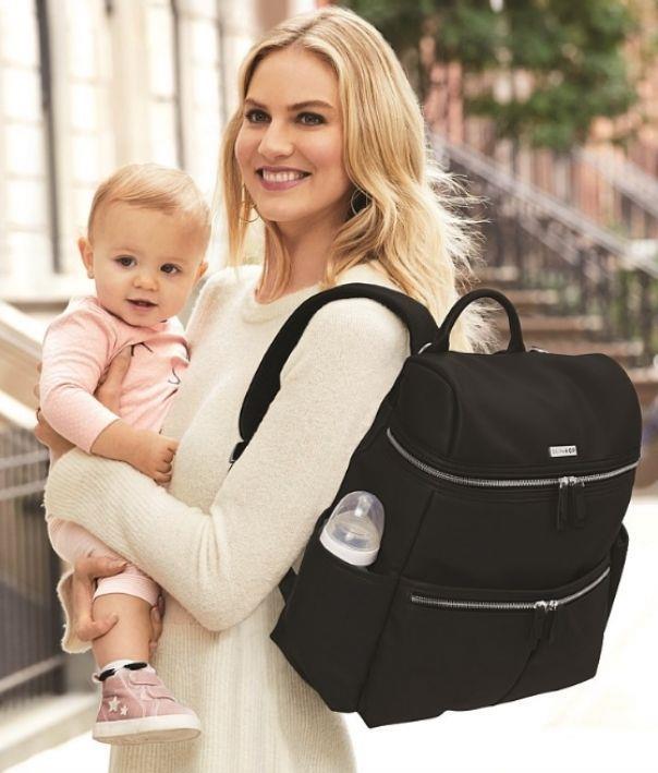 Skip Hop 'Flatiron' diaper backpack