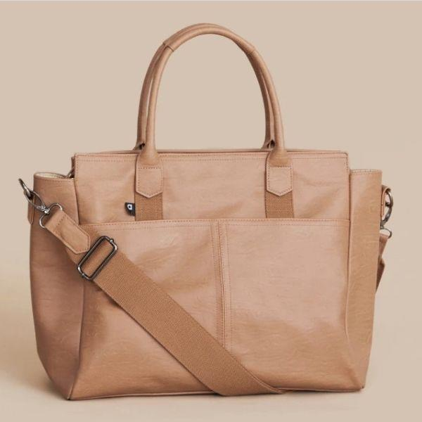 Arrived Hayes Baby Bag Tote - Cappuccino