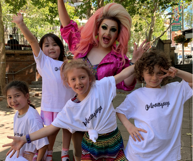 Drag Queen Story Time World Record Attempt at Sydney's Mardi Gras