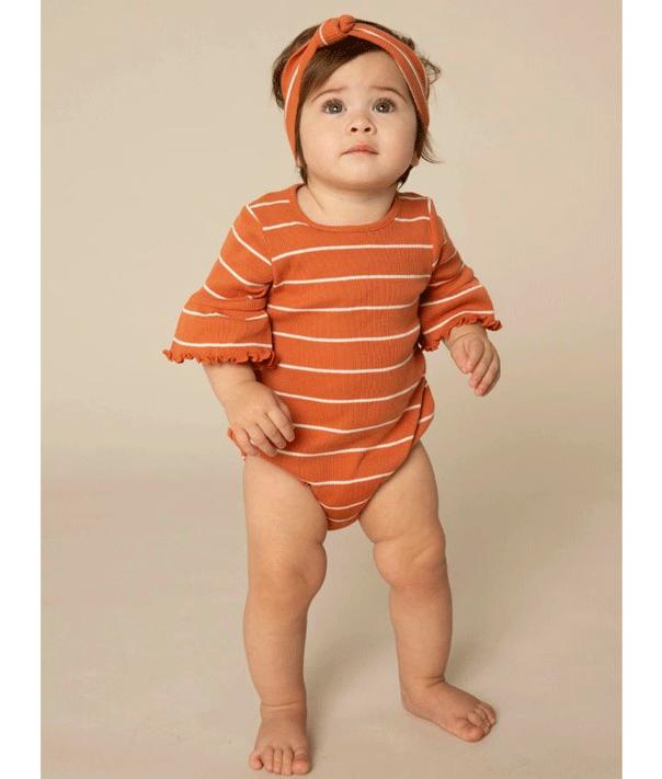 Girl baby romper and headband