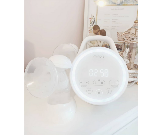 Minbie double breast pump
