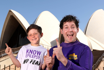 Lachy 'Purple Wiggle' Gillespie has a very personal reason for supporting Purple Day for Epilepsy