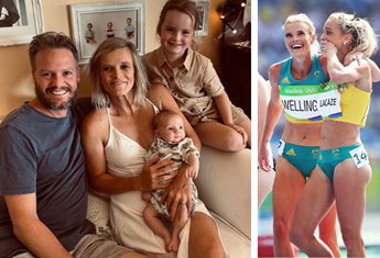 Olympic athlete and mum-of-two Eloise Wellings on juggling motherhood and exercise