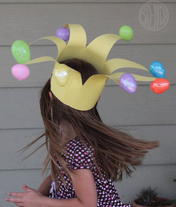 Easter Jester crown