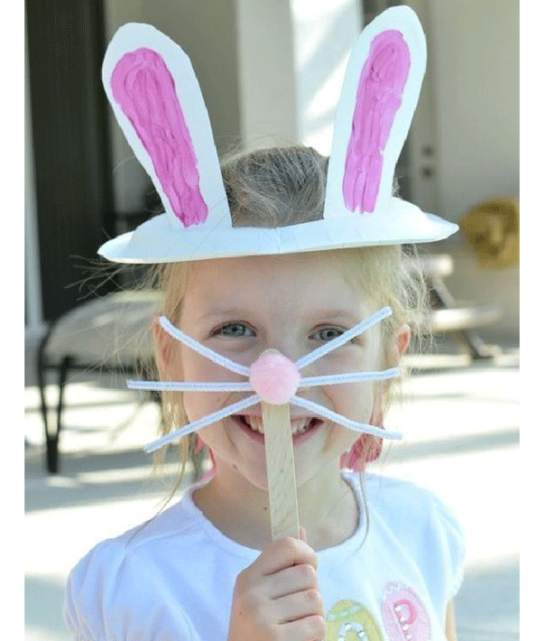 Bunny Paper Plate