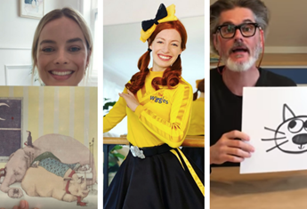Virtual fun for kids: Celebrities reading books, dance classes, art lessons and more