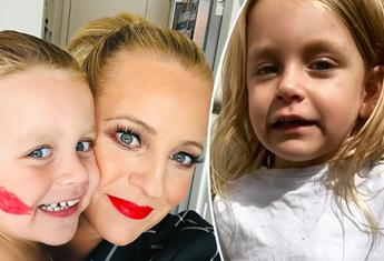 Carrie Bickmore's daughter Evie shares the cutest way to wash your hands amid COVID-19