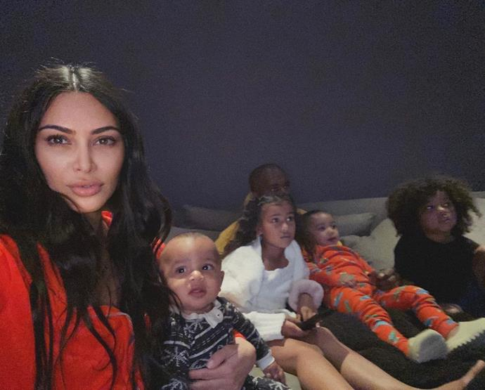 Kim Kardashian-West and Family