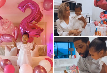 Khloe Kardashian reunites with her ex to celebrate daughter True's second birthday