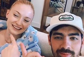 Pregnant Sophie Turner and husband, Joe Jonas take the TikTok couples challenge and LOL
