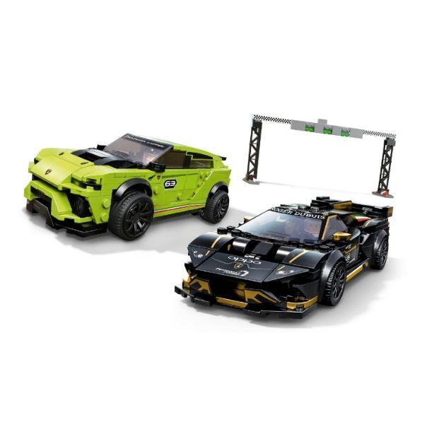 LEGO® Speed Champions Lamborghini Huracán Super Trofeo EVO and Lamborghini Urus ST-X