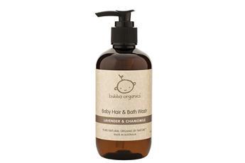 Bubba Organics Lavender & Chamomile Baby Hair & Bath Wash