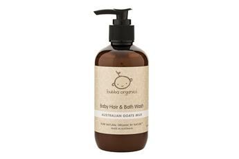 Bubba Organics Australian Goats Milk Baby Hair & Bath Wash