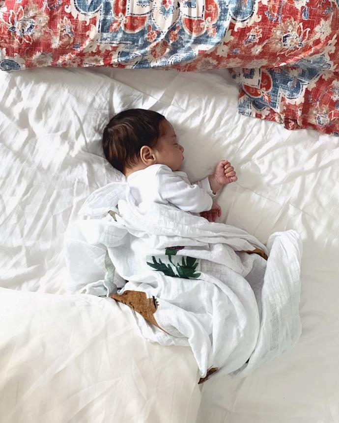 Gogglebox baby Malik Fahd