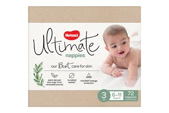 HUGGIES Ultimate Nappies Size 3-5