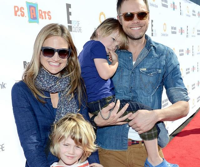 Joel McHale and family