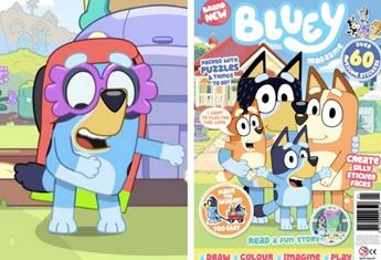 A new Bluey magazine has dropped and it's going to keep my little super fan entertained for hours