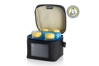 Medela Cooler Bag with 4 Breastmilk Bottles 150mL