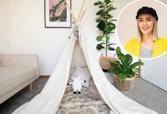 How to DIY this stylish kids play tent, best of all it's easier than you think