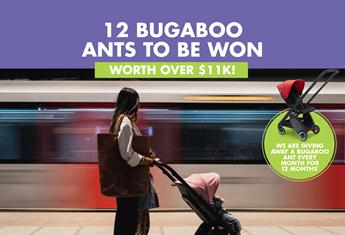 WE'RE GIVING AWAY 12 BUGABOO ANTS!