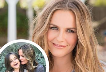 Alicia Silverstone says she's been taking baths with her 9yo son, Bear during isolation