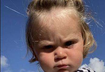 Gordon Ramsay's son, Oscar is adorably unimpressed and we can't get enough of his cranky little face