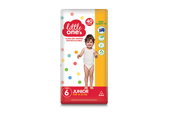 Little One's Junior Nappies 40pk