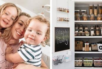 Organisation expert and mummy blogger Steph Pase shares how to create an Instagram-worthy pantry