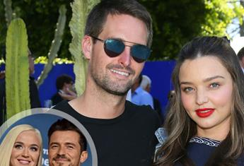 Evan Spiegel gushes about wife, Miranda Kerr and ex Orlando Bloom's co-parenting