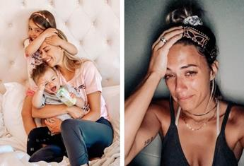 This crying selfie of 'exhausted' mum Jana Kramer goes viral as she gets real about motherhood