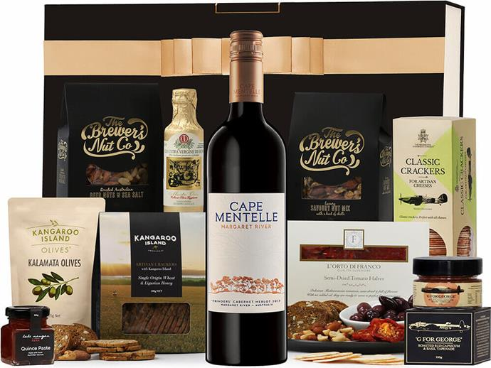 Red Wine and Nibbles Hamper