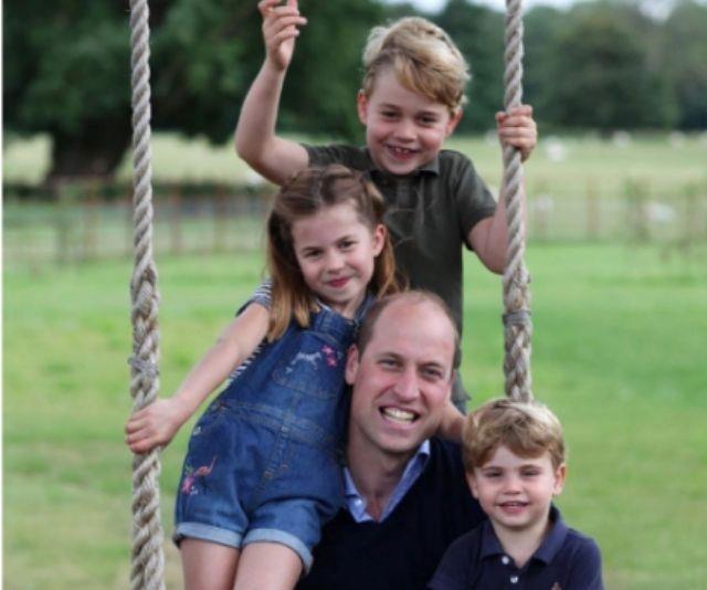 Prince William, George, Charlotte, Louis