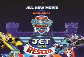 WIN 1 OF 5 PAW PATROL: JET TO THE RESCUE FAMILY PASSES