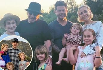 Jack Osbourne's three-year-old daughter has COVID-19, while the rest of the family are negative