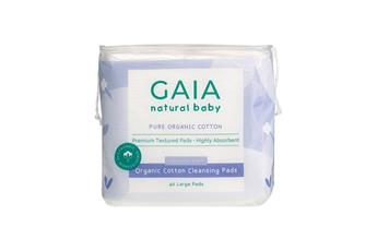 GAIA Natural Baby Organic Cotton Cleansing Pads 40pk