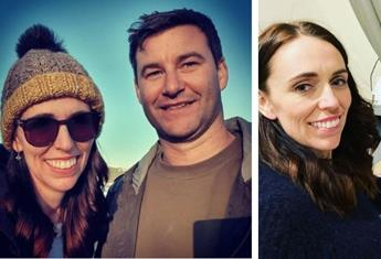 Jacinda Ardern praises her fiance, Clarke and her 'wonderful village' for helping to raise two-year-old daughter, Neve