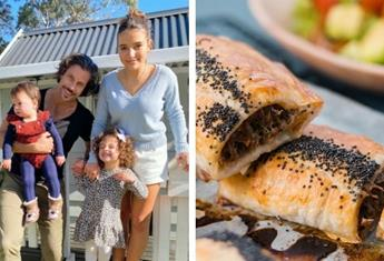Sam Wood's sausage roll recipe that is loved by his daughters and his cooking with kids tips