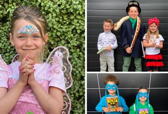 Good bookin'! These celebrity kids are rocking Book Week 2020