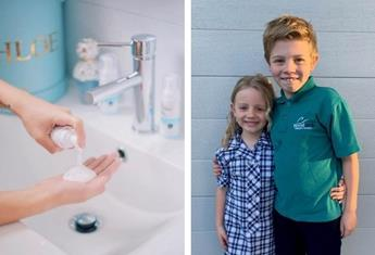 A new hand sanitiser offers up to 24 hours protection and this Melbourne mum-of-two is a fan