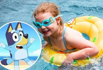"More Bluey water toys for the bath and pool have dropped ""for real life…"""