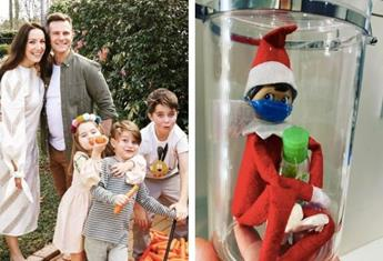 """David Campbell's Elf on the Shelf is quarantining this year and parents say: """"Brilliant!"""""""