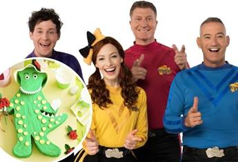 How to make The Wiggles' Dorothy the Dinosaur cake