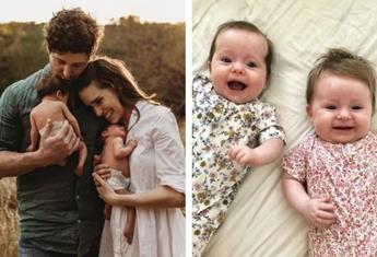Lachy 'Wiggle' Gillespie and Dana Stephensen share all the cutest pics of their twin girls