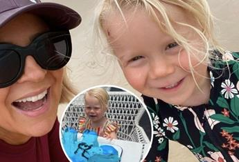 Carrie Bickmore makes an impressive Bluey cake to celebrate her daughter's second birthday