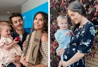 Laura Byrne is convinced she knows her baby's gender and says Matty J is desperate to find out